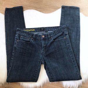 J.Crew Toothpick Skinny Jeans Dark Wash size 27